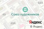 Схема проезда до компании Пивное дело в Барнауле