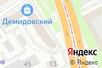 Схема проезда до компании Банк Интеза в Барнауле