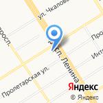 Брависсимо на карте Барнаула