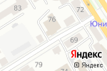 Схема проезда до компании Promo Republic в Барнауле