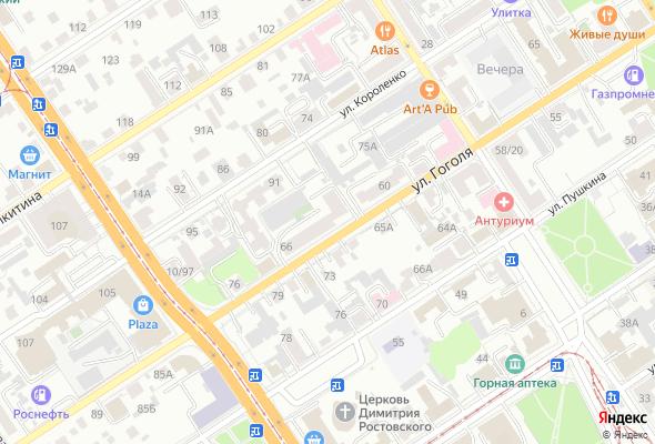 жилой комплекс ул. Гоголя 66