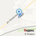 Шамо на карте Барнаула