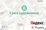 Схема проезда до компании АЛТАЙ ДЕКОР в Барнауле