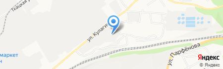 М-люкс на карте Барнаула