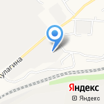 Бетон плюс на карте Барнаула