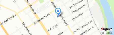 Алтайская краевая федерация Айкидо на карте Барнаула