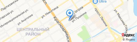 Милосердие на карте Барнаула