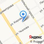 AQUA на карте Барнаула
