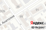 Схема проезда до компании ПРОФЕССИОНАЛ в Барнауле