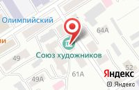 Схема проезда до компании Фонд поддержки орловской рысистой породы лошадей в Барнауле