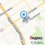 Лагманная на карте Барнаула
