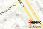 Схема проезда до компании Диксон в Барнауле