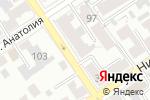 Схема проезда до компании Авто-Гарант в Барнауле