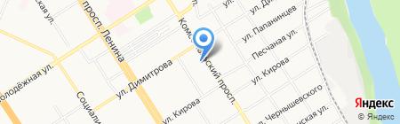 Кроха на карте Барнаула