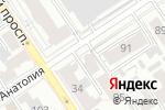 Схема проезда до компании Союз архитекторов и проектировщиков Западной Сибири в Барнауле