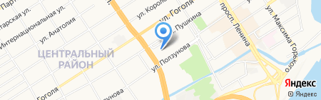 Храм Святого Димитрия Ростовского на карте Барнаула