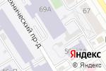 Схема проезда до компании Алтайская краевая федерация Айкидо в Барнауле