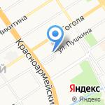 Киоск по ремонту ювелирных изделий на карте Барнаула
