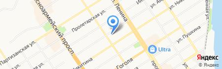 Союз архитекторов и проектировщиков Западной Сибири на карте Барнаула