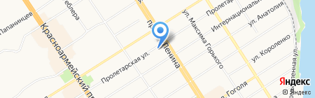 Адвокатский кабинет Климова А.А. на карте Барнаула