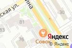 Схема проезда до компании Унция в Барнауле