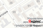 Схема проезда до компании Центр бухгалтерских экспертиз в Барнауле