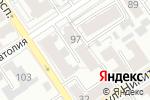 Схема проезда до компании ТехСтройПроект в Барнауле