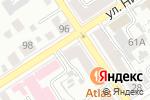 Схема проезда до компании The LOST в Барнауле