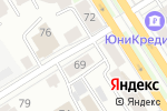 Схема проезда до компании Добрый день в Барнауле