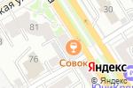 Схема проезда до компании Банк Левобережный, ПАО в Барнауле
