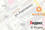 Схема проезда до компании Арафат в Барнауле