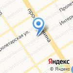 Управление Федеральной службы по надзору в сфере связи на карте Барнаула