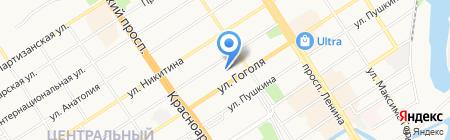 Энергия на карте Барнаула