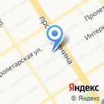 Союзпечать-Алтай на карте Барнаула