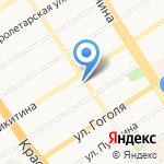 Лелея на карте Барнаула