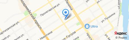 ТехСтройПроект на карте Барнаула
