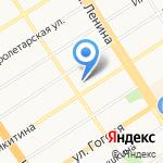 Юридическая Ассоциация на карте Барнаула
