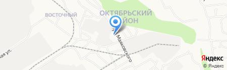 Средняя общеобразовательная школа №56 на карте Барнаула