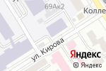 Схема проезда до компании Rest Catering в Барнауле