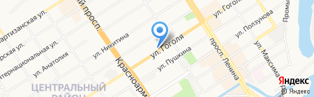 АлтайПак на карте Барнаула