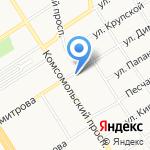 Жерминаль на карте Барнаула