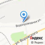 БВРЗ на карте Барнаула