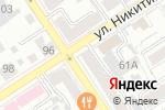 Схема проезда до компании Юрсервис в Барнауле