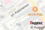 Схема проезда до компании Город бетонных конструкций в Барнауле