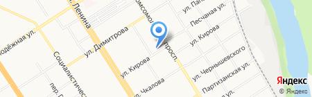 Классика на карте Барнаула