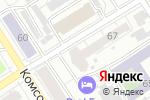 Схема проезда до компании Крепкий орешек в Барнауле