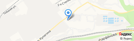 АЗС ТрансСиб на карте Барнаула