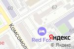 Схема проезда до компании Жерминаль в Барнауле