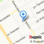 Шиномонтаж на карте Барнаула