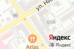 Схема проезда до компании Сэп-ЛТД в Барнауле